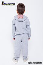 Детский спортивный костюм с вышивкой мальчику Юный модник, фото 3