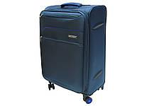 Легкий тканевый чемодан на 4-х кол. большого размера Snowball  61825