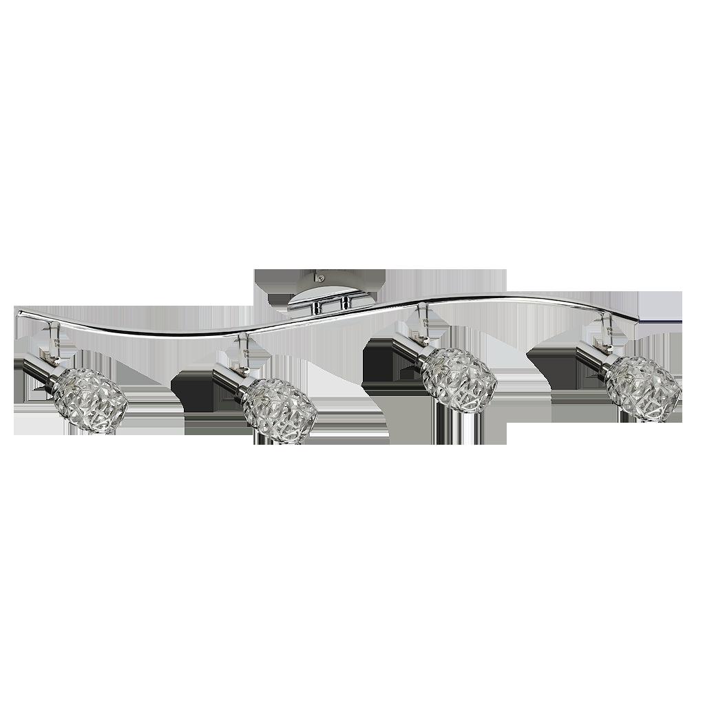 Спот Rabalux Venus eve 6104 4x40Вт G9 металл/серебро