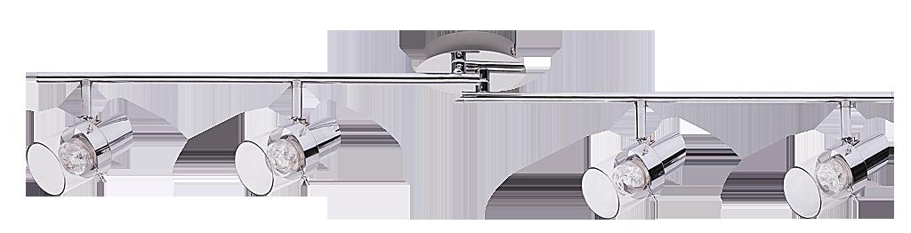 Спот Rabalux Dakota 6674 4x4.5Вт LED металл/серебро
