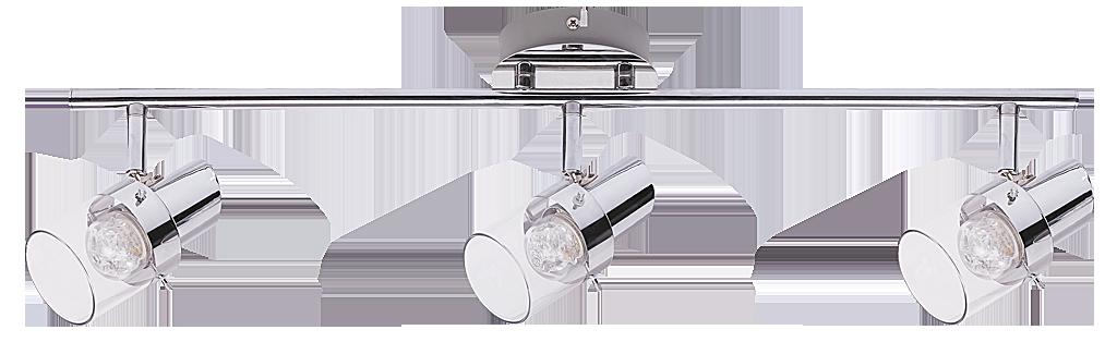 Спот Rabalux Dakota 6673 3x4.5Вт LED металл/серебро