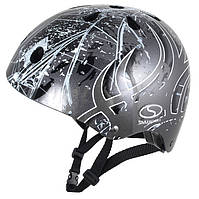 Шлем SMJ Sport Anarchy Metalic Silver (Польша) серый Киев. Магазин, фото 1