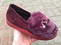Туфли женские зимние оптом