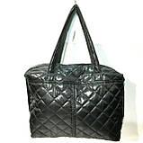 Стеганные женские сумки с полоской GUCCI (красный матовый)26*38см, фото 3