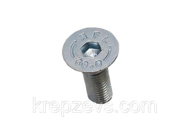 Винт М22 DIN 7991 оцинкованный
