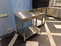 Стол производственный из нержавеющей стали 1200/700/850 мм