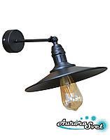 Бра настенная AuroraSvet loft 9500 чёрная.LED светильник бра. Светодиодный светильник бра., фото 1