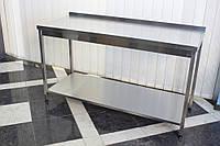 Стол с полкой кухонный 1500/700/850 мм, фото 1