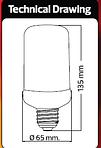 """Светодиодная лампа имитация огня """"FIREFLUX"""", фото 3"""
