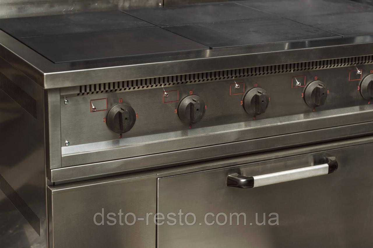 Плита электрическая 6-ти конф. с духовкой ПЭ700-6-Ш