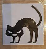"""Наклейка """"Злий котик"""", фото 2"""