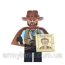 Фигурки ковбои, дикий запад, конструктор , аналог Лего, BrickArms, фото 3