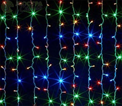 """Гирлянда светодиодная """"Висюлька"""" RGB 108 ламп(LED) V8"""