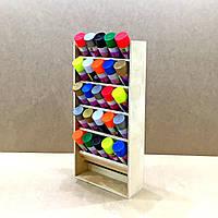 Органайзер для аэрозольных красок Челси 5 полок
