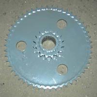Блок звездочек Z-50 t19,05 привода мотовила Дон-1500 3518050-10330Б
