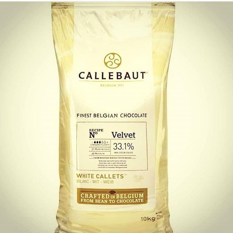 Білий Бельгійський Шоколад  Velvet ТМ CALLEBAUT