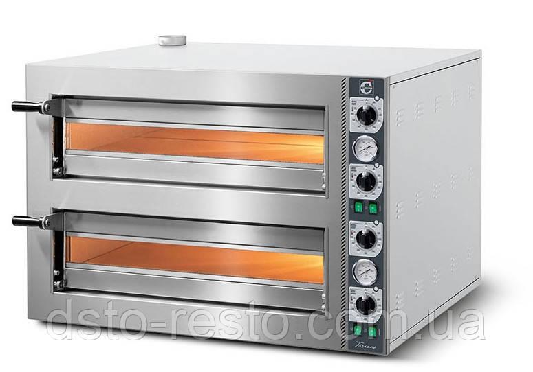 Печь для пиццы двухкамерная CUPPONE TZ 435/2M