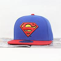 Кепка с прямым козырьком Superman