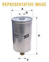 Топливный фильтр на FORD FIESTA III (WIX FILTERS)