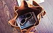 Сумка женская через плечо в наборе кошелек Suzy Коричневый, фото 6