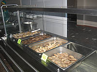 Мармит вторых блюд 1000/700/1400 мм (вместимость 2GN1/1), одна полка, фото 1