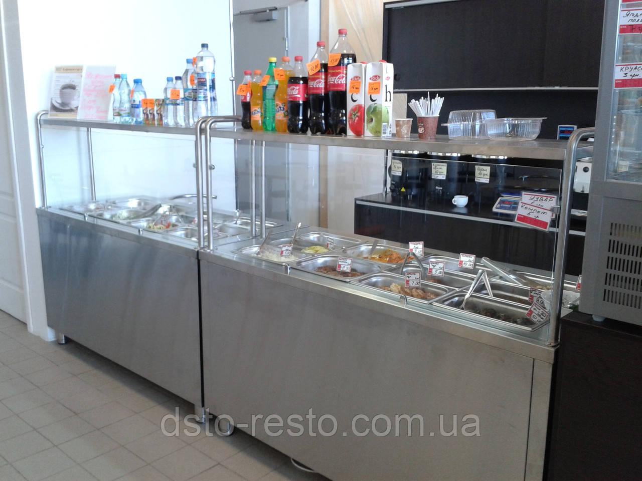 Холодильный элемент для салатов на 2 емкости GN 1/1, 1000/700/1400 мм, одна полка