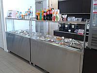 Холодильный элемент для салатов на 2 емкости GN 1/1, 1000/700/1400 мм, одна полка, фото 1