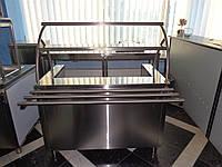 Мармит  первых блюд 1200/700/1400 мм (3 конфорки)