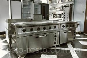 Плита электрическая 4-х конф. с духовкой ПЭ700-4-Ш