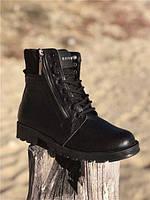 Ботинки мужские Balmain D4745 черные