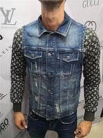 Безрукавка джинсовая Tom Free D4752 синяя