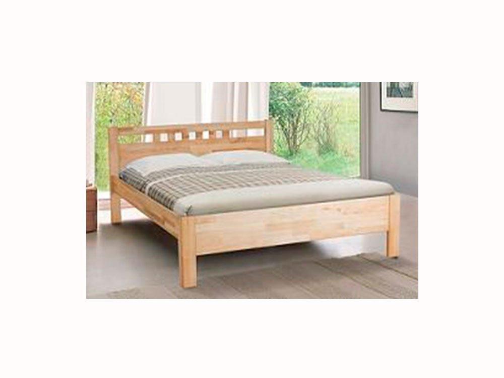 Ліжко двоспальне 160*200 бук в спальню Sandy Еко Модерн   Мікс Меблі
