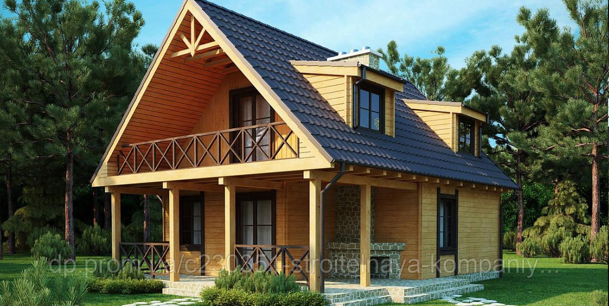 Проект дома uskd-18