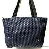 Стеганные женские сумки (синий)31*49см, фото 2
