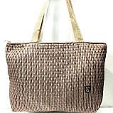 Стеганные женские сумки (синий)31*49см, фото 3