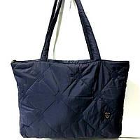 Стеганные женские сумки (синий)31*49см, фото 1