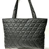 Стеганные женские сумки (синий)31*49см, фото 5