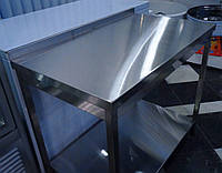Стол разделочный производственный без нижней полки 1500/500/850 мм, фото 1