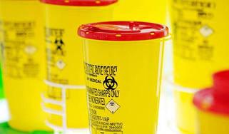 Контейнеры и пакеты для медицинских отходов