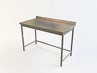 Стол в горячий цех ресторана и кафе без нижней полки 1000/500/850 мм, фото 1
