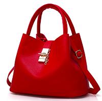 Сумка женская шоппер с кошельком Melanie Красный, фото 1
