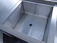Ванна моечная из нержавеющей стали 700/700/850 мм, фото 1