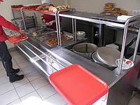 Мармит первых блюд 1500/700/1400 мм (3 конфорки), фото 1