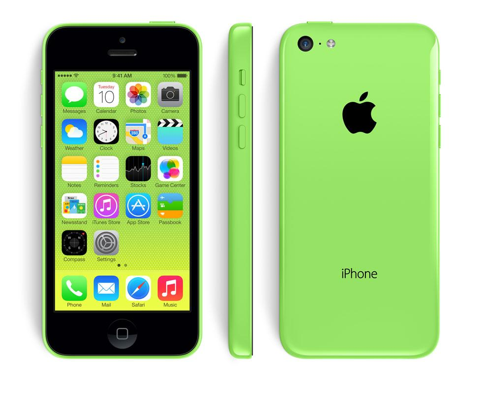 Apple iPhone 5C Green