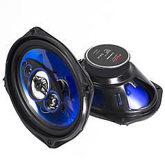 Музыкальная автоакустика Puzu PZ-6962B max колонка 360 Вт встраиваемая в авто 6х9 дюймовый (15 х 23 см)