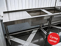 Ванна моечная со столом 1000/500/850 мм, фото 1