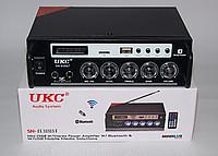 Усилитель UKC AMP SN 555 BT /Усилитель звука / FM USB Блютуз + Караоке/ Усилитель с Bluetooth