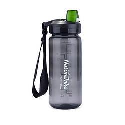 Спортивная бутылка для воды Naturehike Bicycle Bottle 500 мл Черный (NH61A060)