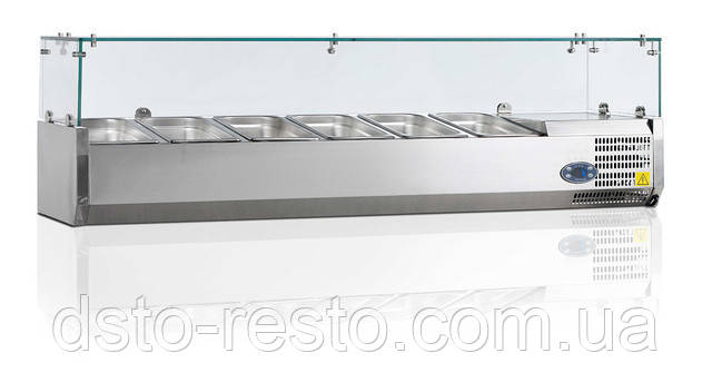 Холодильная настольная витрина TEFCOLD VK33-200