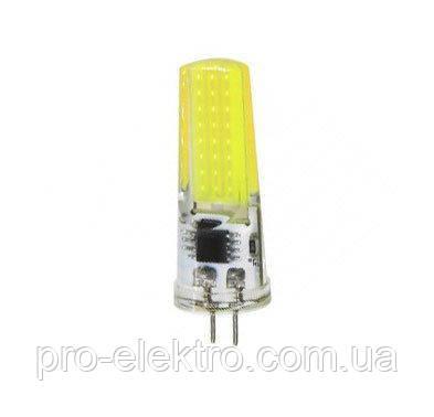 Светодиодная лампа BIOM silicon G4-5W-220 Белый